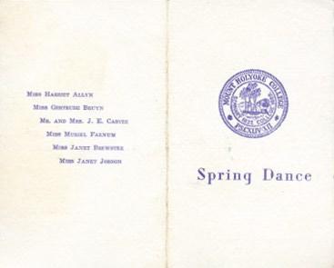 [Dance Card]