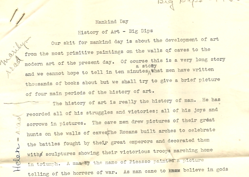 a letter written on aug 19 1956