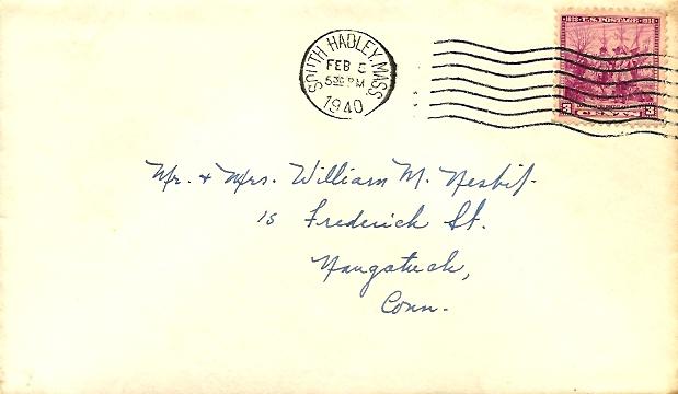 The Bessie Nesbit Letters