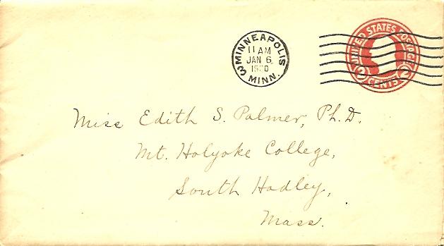 envelope postmarked