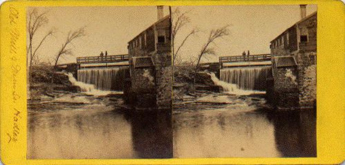 [Old Mill and Dam]