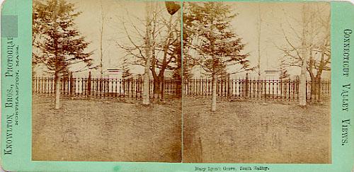 [Mary Lyon's Grave]
