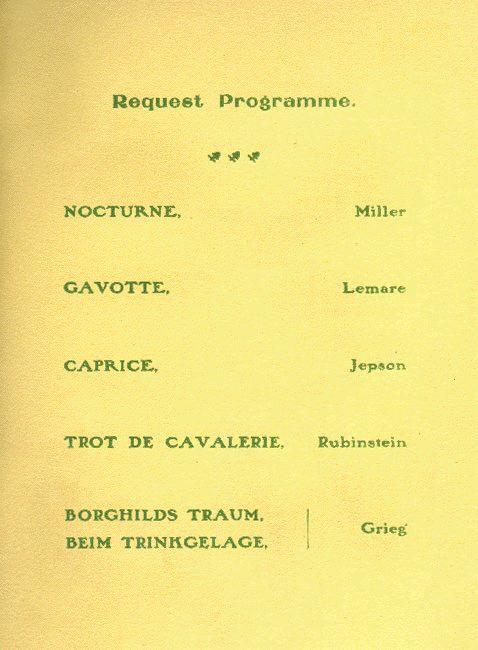 Template For Recital Program Vocal Recital Program Template